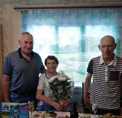 1 июля 2018 года 60–летний юбилей совместной жизни отметили супруги Хоменко Александр Степанович и Ада Степановна